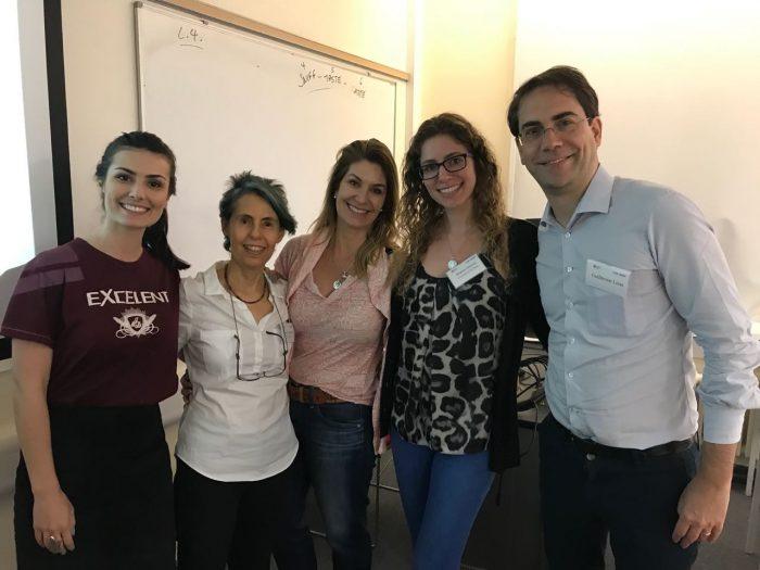Representantes brasileiros da SABE/IAREP 2018