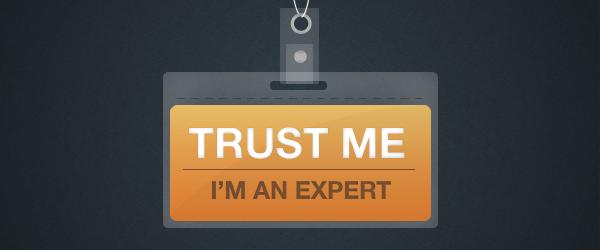 O problema com Experts